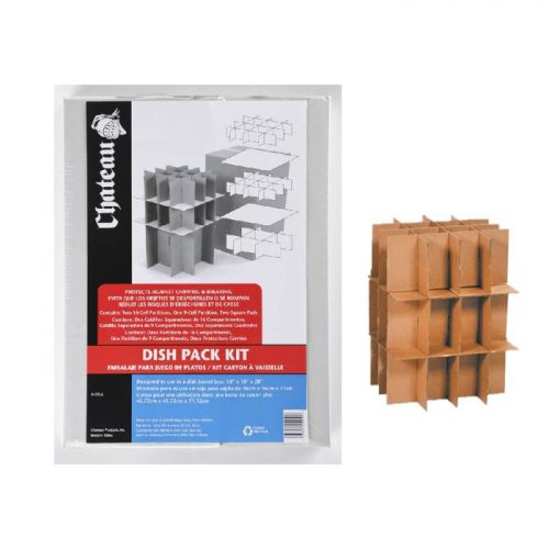 DISH & GLASS PACK PARTITION KIT