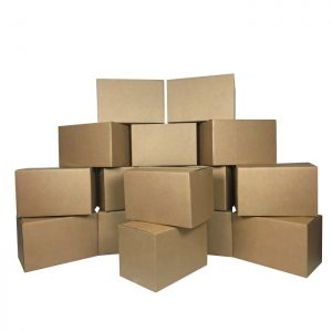 15 SMALL MOVING BOXES