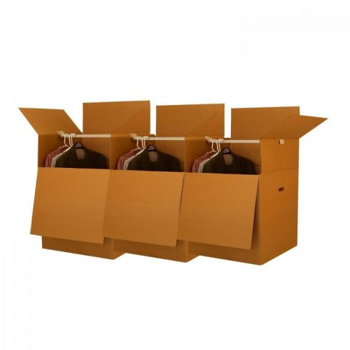 LARGER WARDROBE BOXES (BUNDLE OF 3)